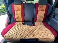Авто чехлы накидки на сидения универсальные с вышивкой