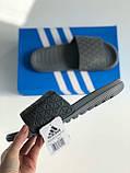 Шльопанці Adidas Gray, фото 2