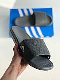 Шльопанці Adidas Gray, фото 6