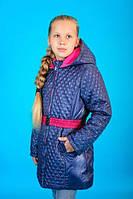 Куртка зимняя-- еврозима для девочки Малышка