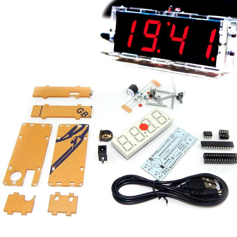 Радиоконструктор часы электронные ( BEST - Сборка для радиолюбителя)