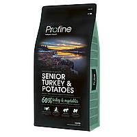 Profine Senior Turkey 15 кг, индейка