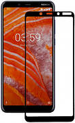 Защитное стекло Full Cover 9D на Nokia 1+ Plus Black