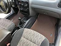 Авто коврики EVA в салон для DAEWOO LANOS 3D