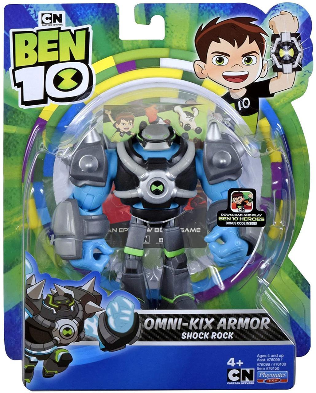 Бен Тен 10, фигурка Шок Рок Ben 10 Shockrock, Оригинал из США