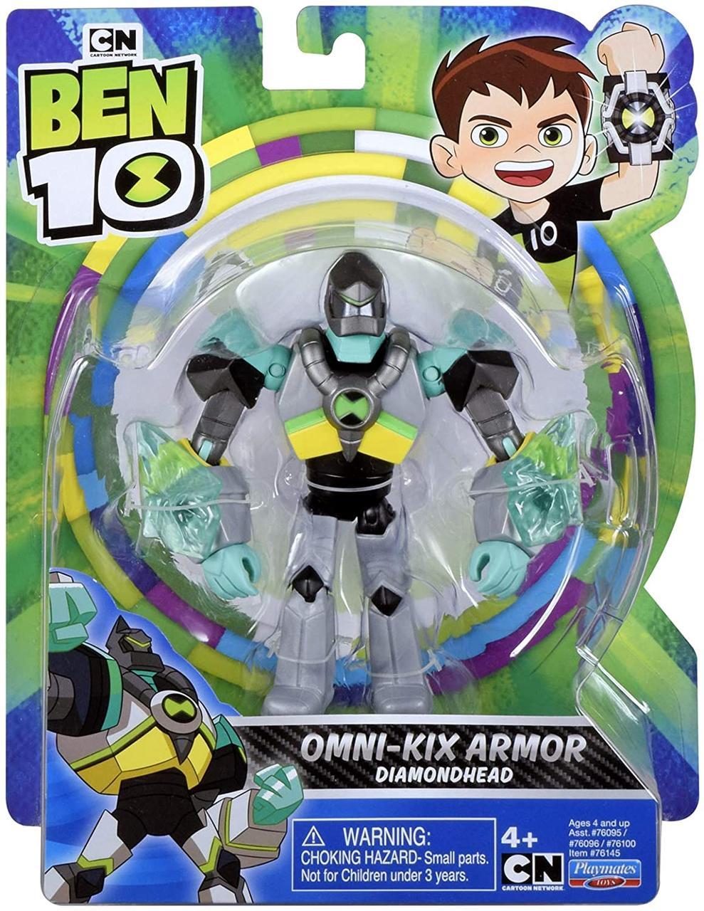 Бен 10 фигурка Алмаз Ben 10 Diamondhead, Оригинал из США