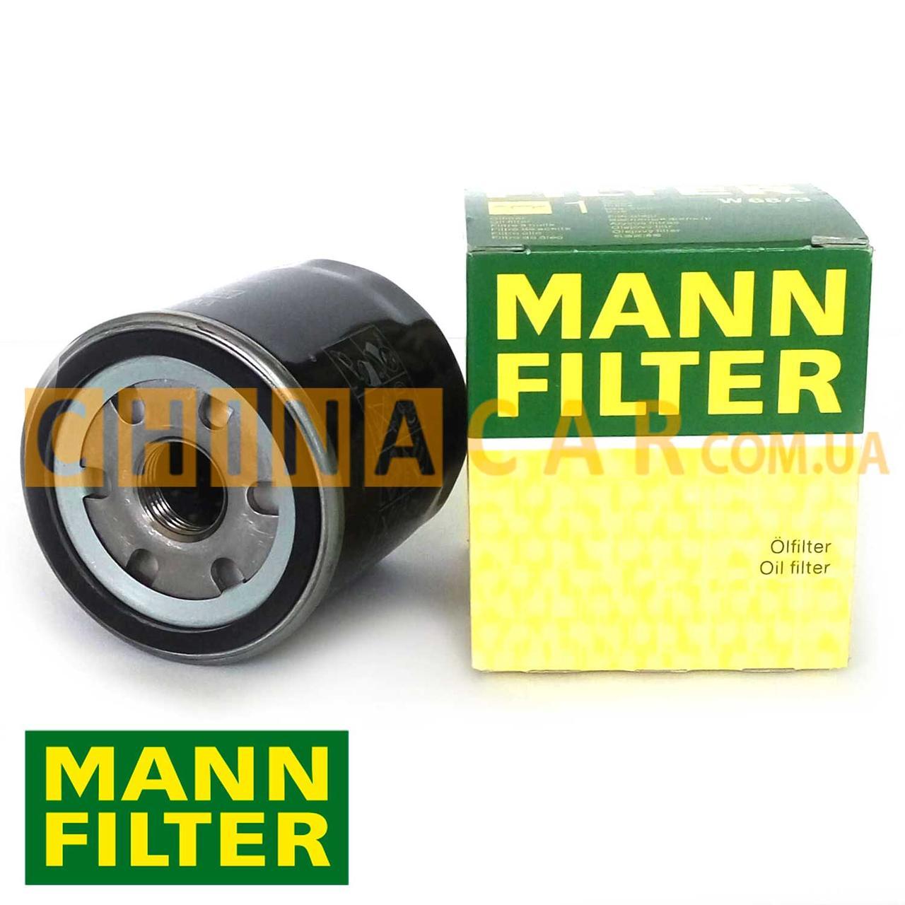 Фильтр масляный MANN, Geely SL Джили СЛ - 1136000118