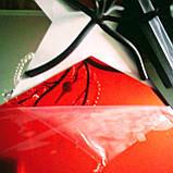 Акрилове дзеркало «Сота» 1 шт 265×230×132 мм ×1 мм червоне, фото 6
