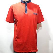 Мужская футболка (больших размеров) 2xl, 3xl, 4xl, 5xl Турция красная