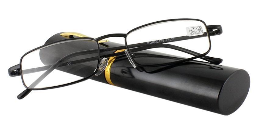 Готовые очки для чтения в футляре(+1.75)