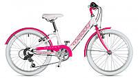 """Детский Велосипед AUTHOR (2020) Melody 20"""", рама 10"""", цвет-цвет-белый // розовый (AR)"""