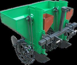 Саджалки картоплі до трактора, мінітрактора