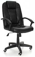 """Кресло офисное """"NEO7410"""" чорное и коричневое - Лучшая цена!"""
