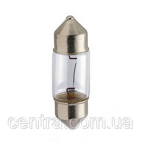 Лампа накаливания 12V 10W T10,5x30 SV8,5 LongerLife EcoVision (пр-во Philips) 12860LLECOCP