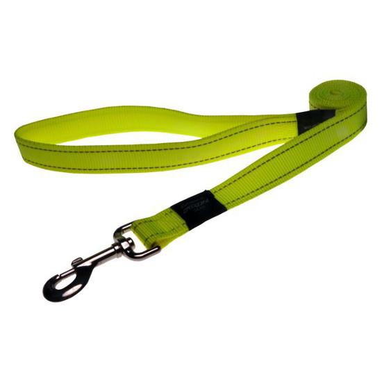 Нейлоновый поводок для собак, желтый Utility Yellow (Рогз)XL: 1,2 м x 25 мм