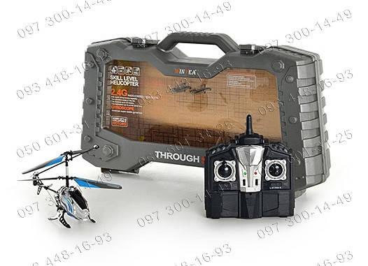 Развивающие игрушки Вертолет на радиоуправлении W 66129-2.4 G 3х канальный вертолет Игрушки на р/у Техника , фото 2