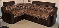 Угловой диван «Палермо» от производителя коричневый