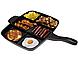 Сковорода гриль универсальная на 5 секций Magic Pan 004 B, фото 5
