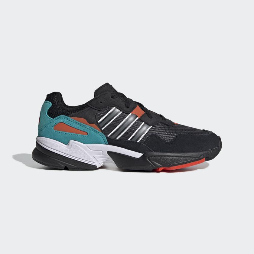 Кроссовки мужские оригинальные Adidas Yung-96 черные