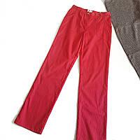 Розовые брюки рубчик