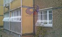 Решетка на окно выпуклая на окно Шир.1760*Выс.2000мм