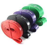 Резиновые петли для фитнеса UPowex Power Bands 4 шт 7-56кг + чехол