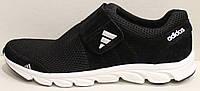Кроссовки сетка черные мужские на липучке от производителя модель ЛМ100-1, фото 1
