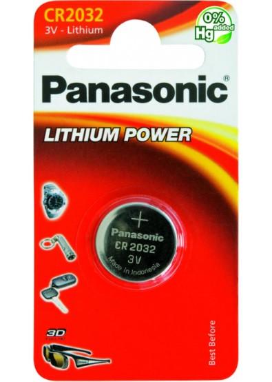 Батарейка Panasonic CR 2032 BLI 1 LITHIUM