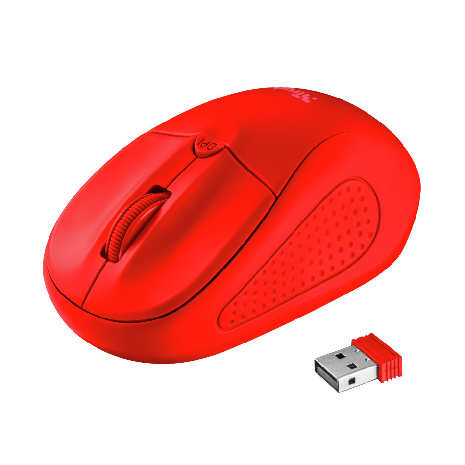 Мишка Trust Primo Wireless Mouse Matte Red