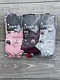 Шкарпетки котонові в сітку жіночі Sanbella з мордочками тваринок 36-40 12 шт в уп мікс із 6 кольорів, фото 4