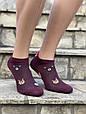 Шкарпетки котонові в сітку жіночі Sanbella з мордочками тваринок 36-40 12 шт в уп мікс із 6 кольорів, фото 5