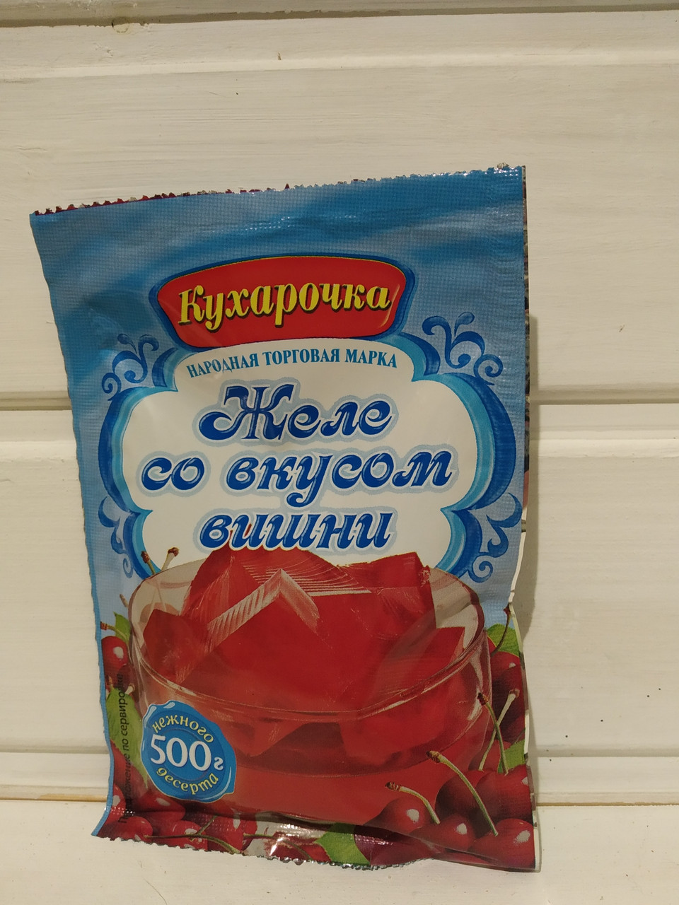 """Желе вишневе """"Кухарочка"""" 80 гр"""