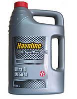 Масло моторное Texaco HAVOLINE ULTRA S 5W40 5л
