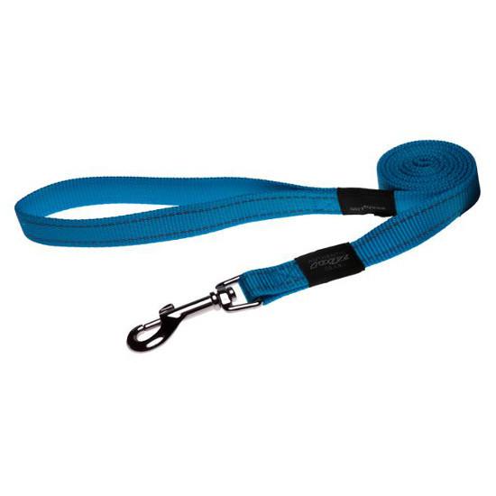 Нейлоновый поводок для собак, бирюзовый Utility  (Рогз)S: 1,8 м x 11 мм