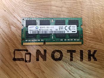 Оперативная память для ноутбука SO-DIMM 8GB 1600MHz DDR3L Samsung (M471B1G73DB0-YK0)