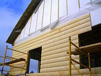 Обшивка деревянной вагонкой, блок хаусом, имитацией бруса
