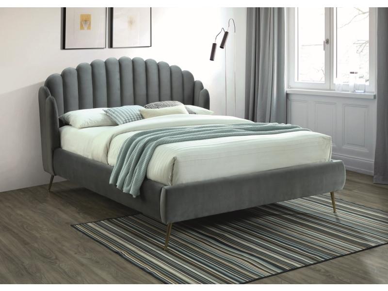 Двуспальная кровать Signal Calabria Velvet 160