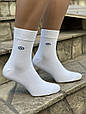 Чоловічі шкарпетки сітка Marde середні носки бамбук з буквою М без шва однотонні 40-45 12 шт в уп асорті 6 кол, фото 4