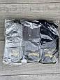 Чоловічі шкарпетки сітка Marde середні носки бамбук з буквою М без шва однотонні 40-45 12 шт в уп асорті 6 кол, фото 6
