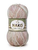 Пряжа Nako Calico Jakar 31880 (Нако Калико Джакар)