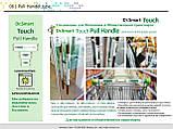 Антибактериальные / Антимикробные наклейки защита от 99,9% микробов, стикеры Ю.Корея Antimicrobial stickers, фото 5