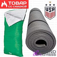 Спальный мешок-одеяло (спальник) 68053 Evade 200 Pavillo (США) by Bestway с карематом в наборе