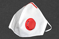 10 шт. Респиратор маска Славия FFP3 с зажимом и с клапаном, круче Бука и Микрона,10 шт, фото 1