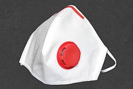10 шт. Респиратор Славия FFP3 с зажимом и с клапаном, круче Бука и Микрона,10 шт