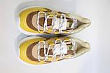Стильні молодіжні кросівки жовтого кольору.Стильні молодіжні кросівки жовтого кольори., фото 7