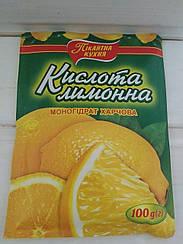 """Кислота лимонна """"Пікантна кухня"""" 100 гр"""