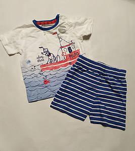 Детский костюм для новорожденных футболка и шорты Disney (Англия) р.62см (0-3мес)