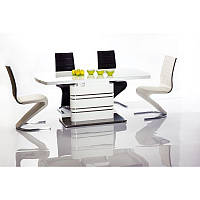 Стеклянный стол Стол обеденный Gucci 180х90 82685, цвет - белый