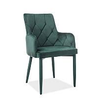 Стул из ткани Стул Ricardo Velvet Зеленый 95150, цвет - зеленый