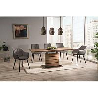 Деревянный стол Leonardo dab 140, цвет - дуб